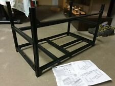 Used VEDDHA Aluminum 6GPU Stackable Mining Case Rig Frame ETH ZCash MINERCASE V6