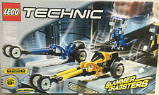 LEGO 8238 TECHNIC SLAMMER DRAGSTERS - NEW FACTORY SEALED-FREE SHIPPING!!