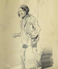 Benjamin ROUBAUD (1811-1847)Juif d'alger dessin Alger Roquevaire Daumier Hersent