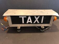 Vintage Antique Taxi Roof Light Lamp