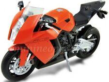 WELLY 62806 KTM 1190 RC8 RACING BIKE MOTORCYCLE 1/10 ORANGE