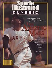 Sports Illustrated 1992 Classic All-Time Dream Teams Willie Mays No Lbl NR/Mint