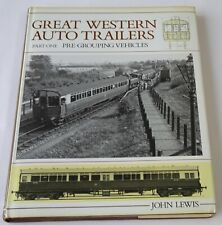 More details for great western railway auto trailers part one: pre-grouping vehicles - john lewis