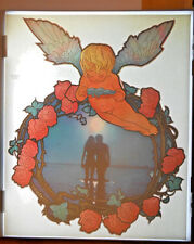 BEACH REAL VINTAGE T-SHIRT IRON-ON GENUINE HEAT TRANSFER LOVE ROSES SUNSET '76