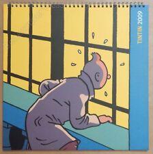 HERGE Calendrier Tintin 2009 30x30 cm