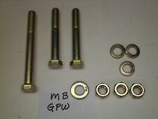Ross Steering Box mounting  bolts  MB GPW  Willys Jeep Military