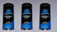 3 Pack Sun-Glo #1 Super Glide Shuffleboard Shuffle Alley Powder Wax Sand New!