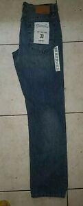 New! Jeans West Straight Leg Blue Jeans ~ Size 30. No Faults, with all Tags