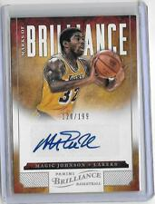 Magic Johnson 2012/13 Panini Brilliance Autógrafo Auto #128/199 -lakers