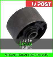 Fits NISSAN ELGRAND E50 - Rubber Suspension Bush For Rear Track Control Rod