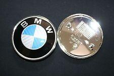 1 5 6 7 X Z Series New BMW 82mm xDrive BLUE CARBON FIBER HOOD EMBLEM LOGO BADGE