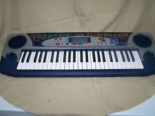 Yamaha PSR-160 BLUE AND SLIVER 50 KEY SYNTHESIZER KEYBOARD PIANO