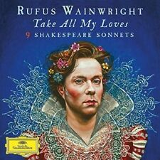 Take All My Loves: 9 Shakespeare Sonnets LP (Vinyl, Apr-2016, 2 Discs, DG Deutsche Grammophon)