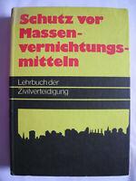 Buch Schutz vor Massenvernichtungsmitteln DDR 1977 Ostalgie Dachbodenfund VEB