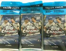Topps 2020 Chrome Baseball Trading Card Value Pack
