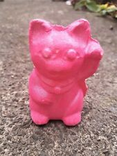 Lush U.K. Luck Cat Bath Bomb 4.2oz ~ Jasmine Absolute ~ SO CUTE!! VEGAN