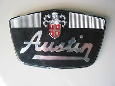 NOS  BMC AUSTIN MINI MK1 BONNET BADGE 24G1201 VERY RARE GENUINE ORIGINAL  PART