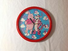 Vintage Disney Winnie The Pooh Collectible Wall Clock