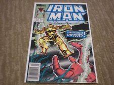 Iron Man #218 (1968 1st Series) Marvel Comics VF/NM