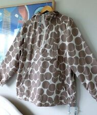 Womens BODEN stone beige spotty zip rain coat jacket kagool  . Size 16