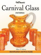 Warman's Carnival Glass ID & Price Guide * 2nd * Schroy