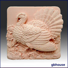 egbhouse, Thanksgiving Turkey-Soap/polymer/clay/cold porcelain 2D silicone mold