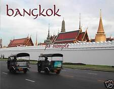 Thailand - BANGKOK - Tuk Tuk 1 - Travel Souvenir Flexible Fridge Magnet