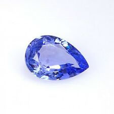 1.46 ct NATURAL BLUE TANZANITE Pear Gemstone GTA-39