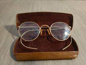 Vintage B&L Optical 1/10 12K GF Gold Filled Eyeglasses WITH CASE