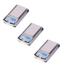 Lot3 Car Key Mini Digital Pocket Gram Jewelry Weight Electronic Scale 100g/0.01