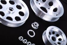 S13 S14 S15 SR20DET 200SX 240SX Light Aux Engine Pulley Set Aluminium Alloy