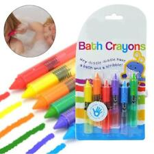 Bath Time Toy Crayons - Multi-Coloured, Pack of 6 Bathing Toy Kids Pen Set