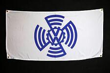 Volkswagen VW Flag - split kdf Type 1 bug bus beatle karman ghia samba okrasa
