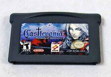Konami Nintendo Gameboy Advance Castlevania Harmony of Dissonance Game Works!