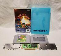 Super Mario 64 (Nintendo 64, 1996) Authentic N64 + Manual and Case
