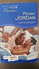 Mills and Boon Books - LOVER BY DECEPTION - penny jordan