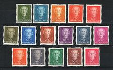 Netherlands 1949-51 Queen Juliana values to 75c MNH