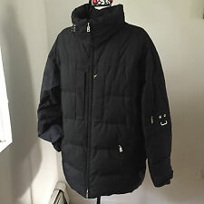 BOGNER MAN Men's Goose Down Puffer Jacket  Black sz.38 US