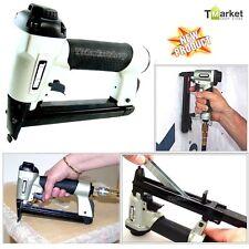 Professional Pneumatic Stapler Staple Gun Tool Home Repair Woodwork Upholstery