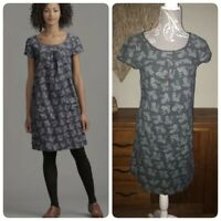 Seasalt Tremolo Grey Floral Cord Dress Size 8