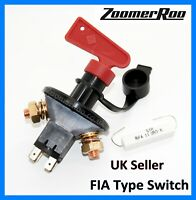 Heavy Duty FIA Approved Battery Master Isolator Cut Off Kill Switch