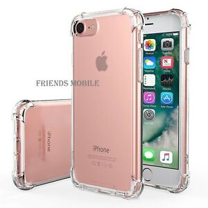 Hybrid Bumper Cover For iPhone X XS MAX XR 8 Plus 7 5 Case and tempered glass