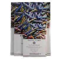 Sennelier La Carte Pastel Card Soft Pastel Charcoal, Pencil 360gsm 6 colour pad
