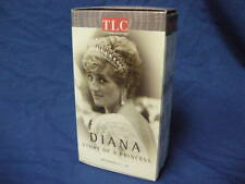 TLC LIFE UNSCRIPTED DIANA STORY OF A PRINCESS 2 VHS CASSETTES EPISODES 1-4