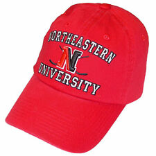 Northeastern Huskies Hockey Top of the World Red High-Stick Adjustable Cap