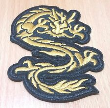 NEW DRAGON CHINESE ART TATTOO MARTIAL LOGO EMBROIDERED IRON ON PATCH SHIRT PO226