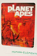 PLANET OF THE APES - 3D LENTICULAR Flip Magnet Cover TO FIT bluray steelbook