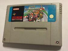 SUPER NINTENDO ENTERTAINMENT Juego Super Mario Kart SYSTEM SNES Mariokart