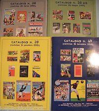 MENCARONI - 4 Cataloghi fumetti figurine da collezione illustratissimi - LB73-56