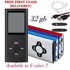 NEW 32GB MP3 4TH GENERATION MUSIC MEDIA PLAYER LCD SCREEN FM VIDEO